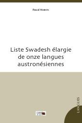 Liste Swadesh de onze langues austronésiennes