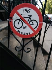 Pas de bicyc(l)ette