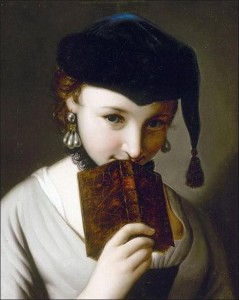 Pietro Antonio Rotari, «Jeune fille au livre»