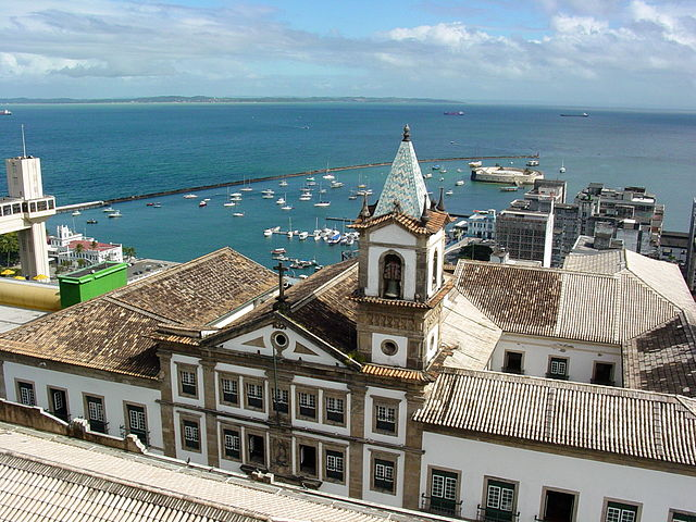 Vue sur le port, Salvador de Bahia