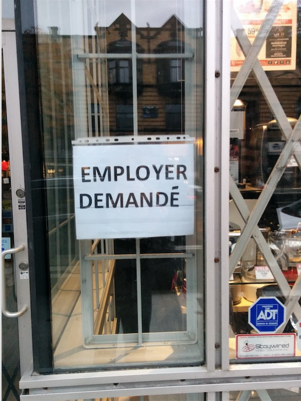 Employer demandé